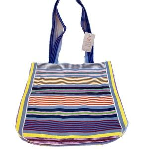 Global Goods Partners Stripe Bright Tote